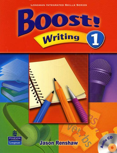 Boost Level 1 Writing Student Book with CD
