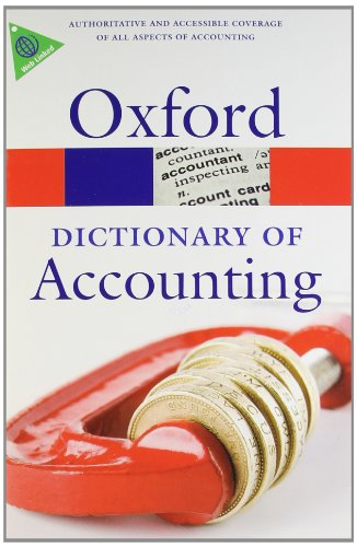 A Dictionary of Accounting 4 Edition
