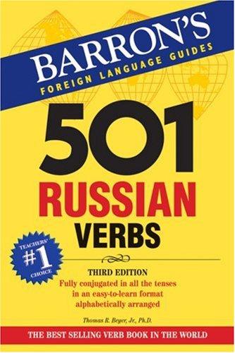501 Russian Verbs 3rd Edition