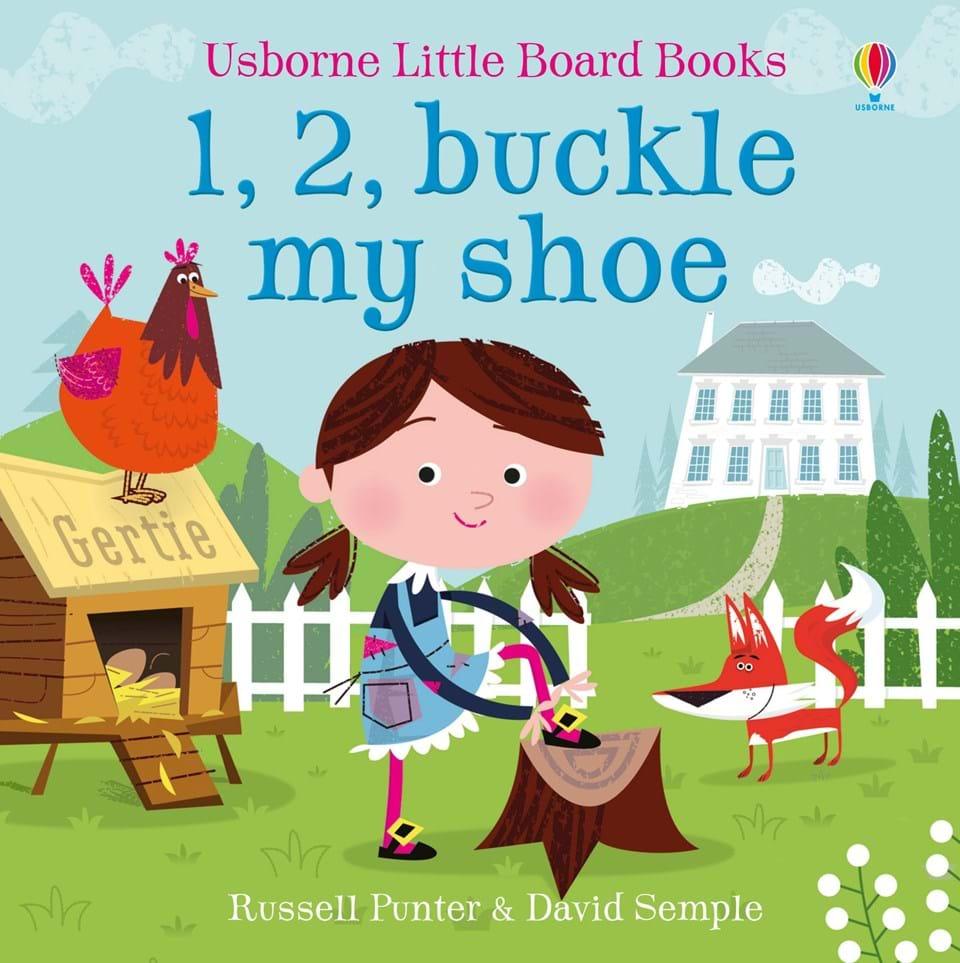 1, 2, Buckle My Shoe (Little Board Book)