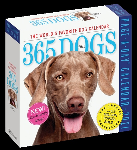 365 Dogs Page-A-Day Calendar 2021