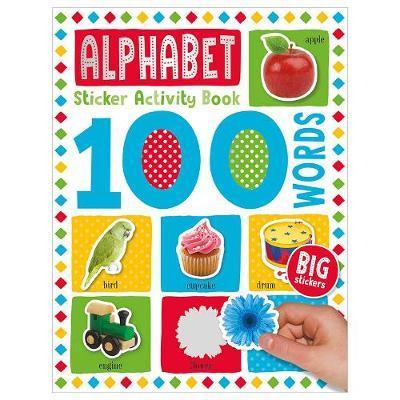 100 Alphabet Words Sticker Activity