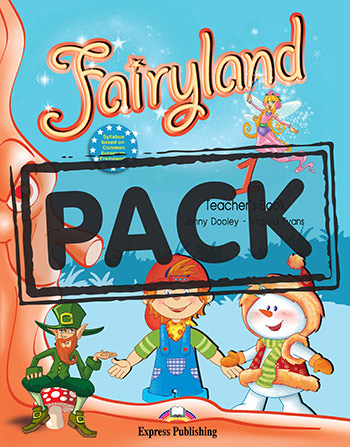 FAIRYLAND 1 PUPIL'S PACK 5 WITH CD & DVD PAL (NEW)