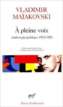 A pleine voix : Anthologie poe'tique, 1915-1930