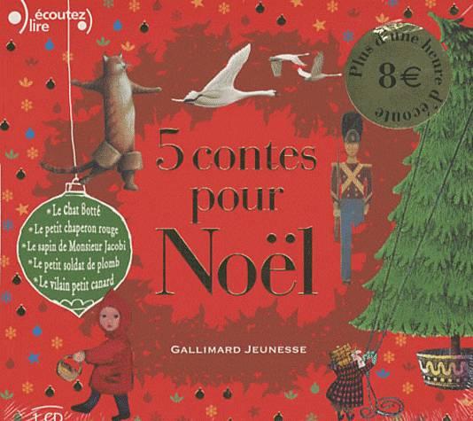 5 Contes pour Noel CD