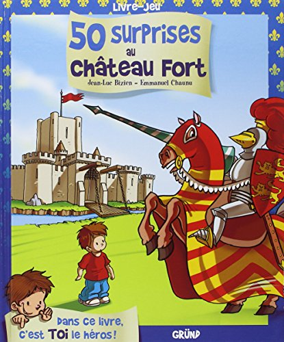 50 surprises au chateau fort - livre-jeu