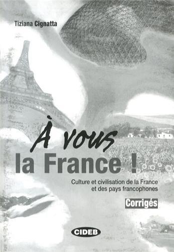 A Vous La France Corriges