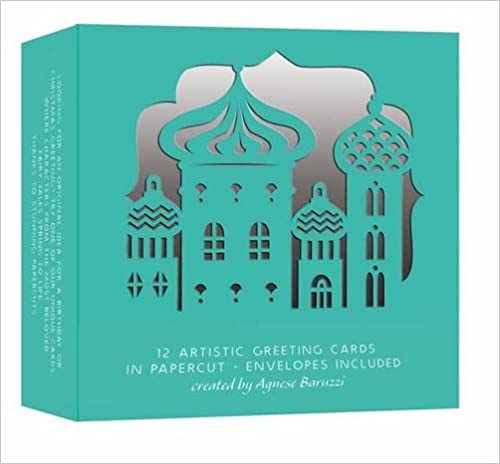 12 Artistic Greeting Cards In Papercut